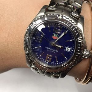 Tag Heuer Midsize link professional watch